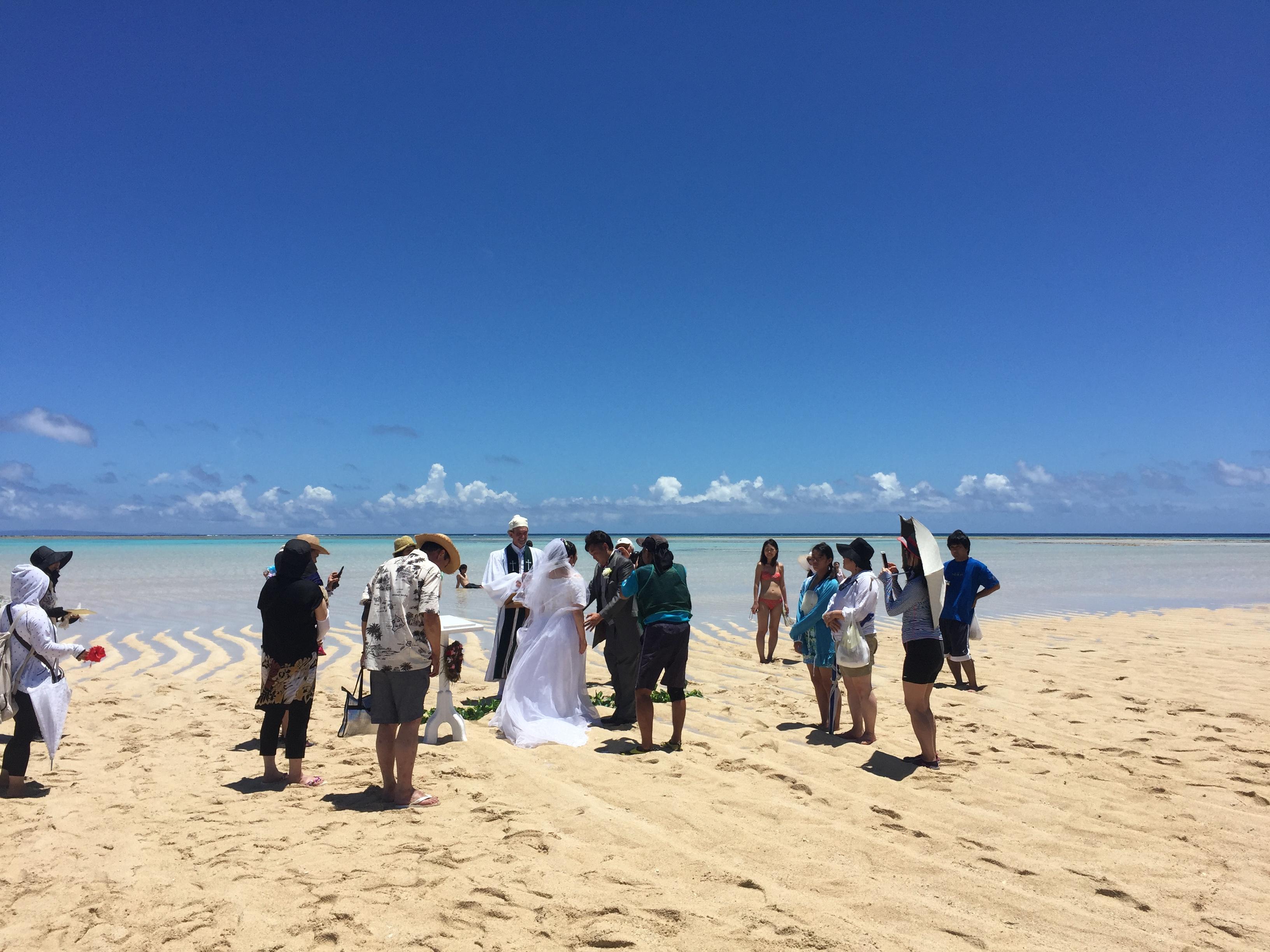 百合ヶ浜で結婚式