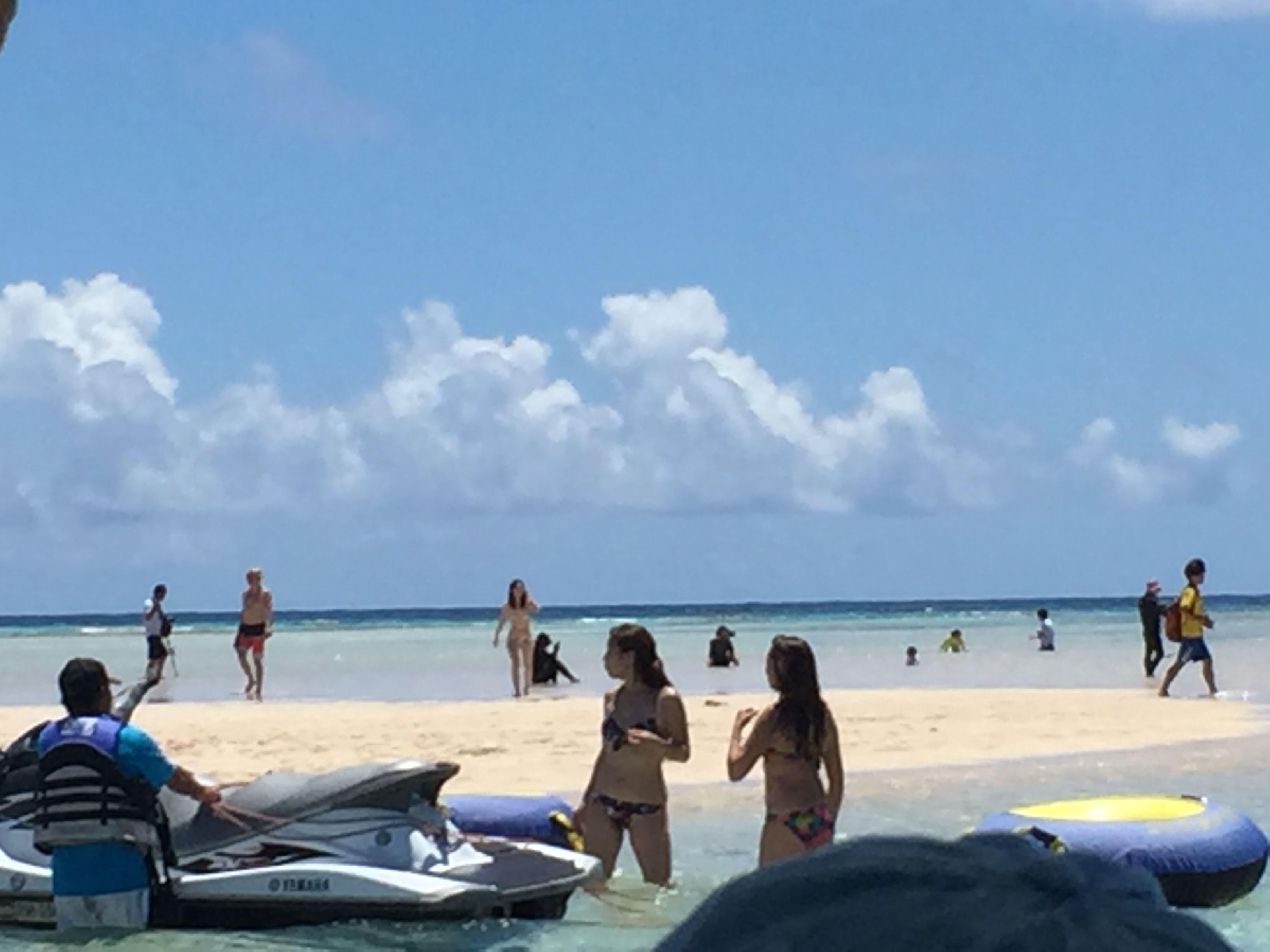 百合ヶ浜に到着