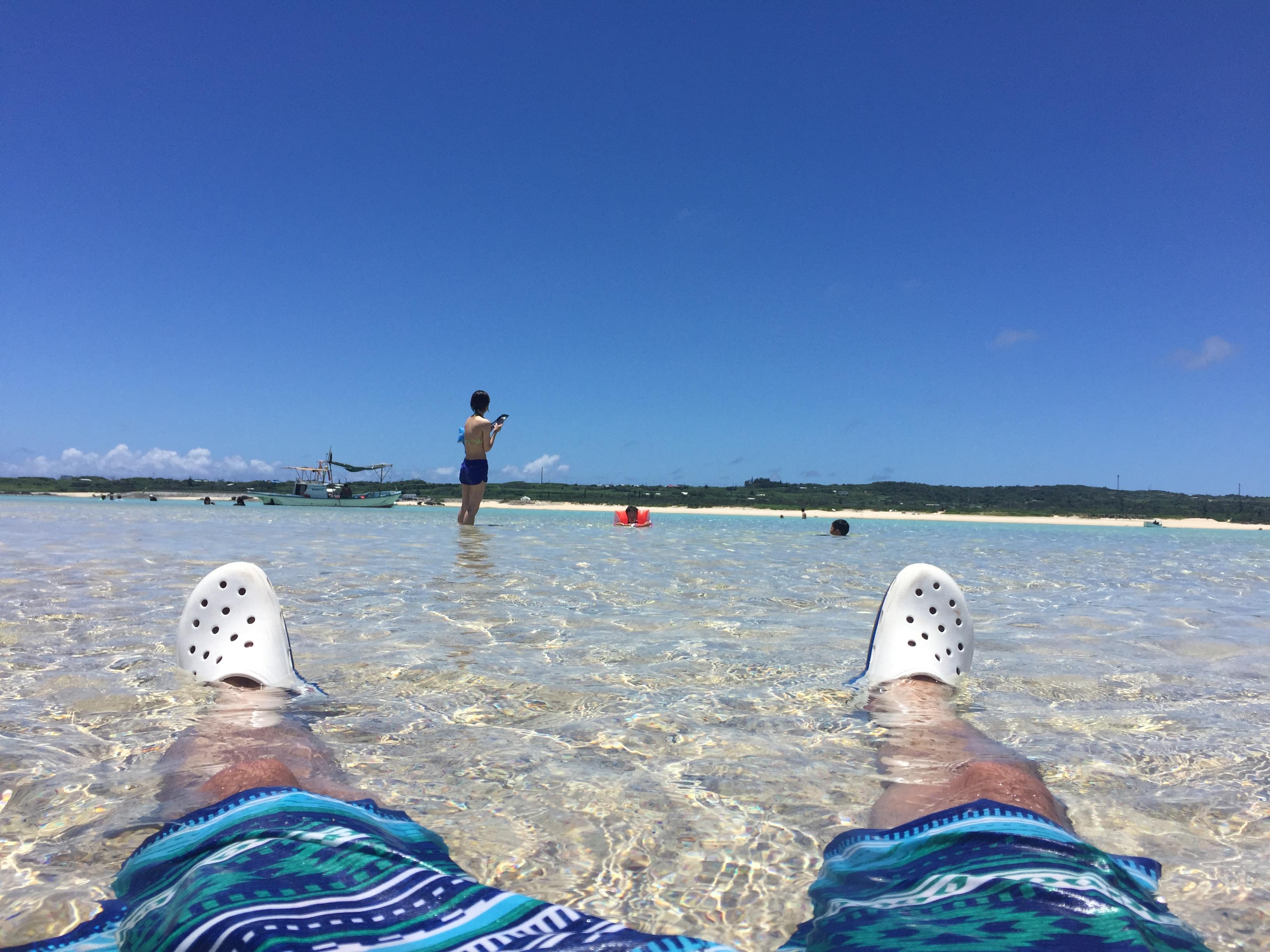 百合ヶ浜でゆったり