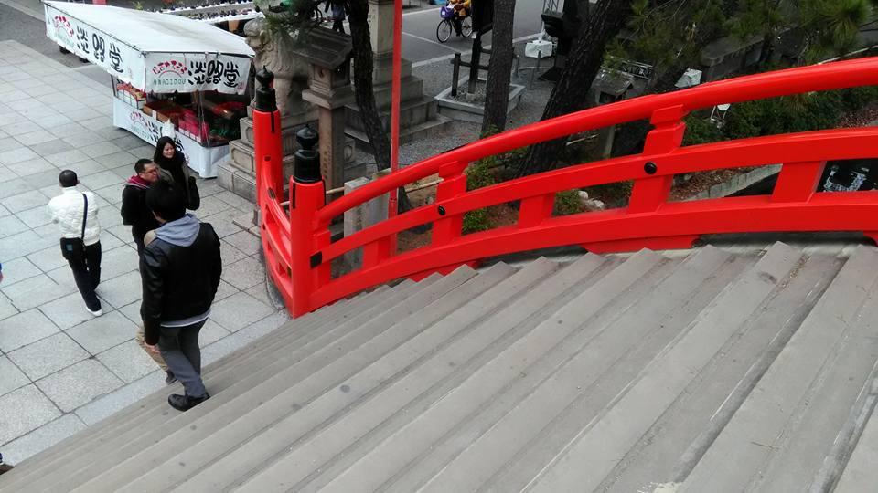 大阪No.1パワースポット住吉大社!五大力とおもかる石を持ち上げてみた!1