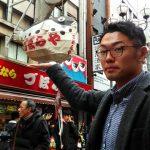 道頓堀でグリコ、くいだおれ太郎、くくる本店、串かつだるま、昭和大衆ホルモンで食い倒れ!